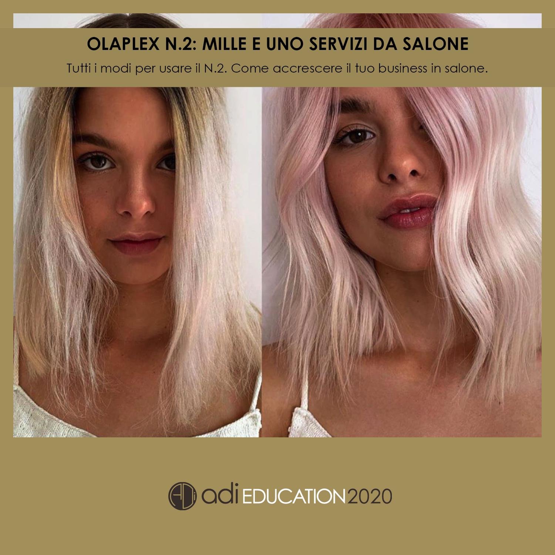 Olaplex N. 2: Mille e Uno Servizi da Salone - Cristina Vigna 8 Maggio