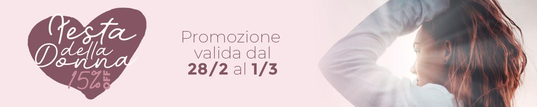 Promo Festa della Donna